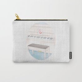 Haruki Murakami's Colorless Tsukuru Tazaki and His Years of Pilgrimage Watercolor Illustration Carry-All Pouch