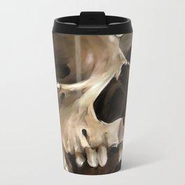Skull 1 Metal Travel Mug