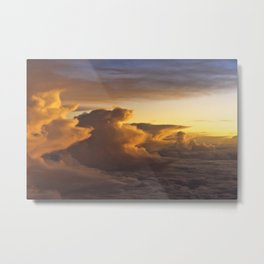 Clouds Over Mallorca Metal Print
