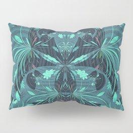 Fireworks on Venus Floral Mandala Pillow Sham