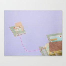 Lavender House Canvas Print