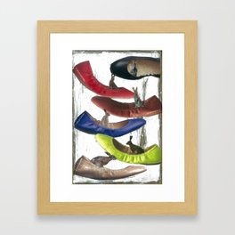 """Big Shoes To Fill"" Framed Art Print"