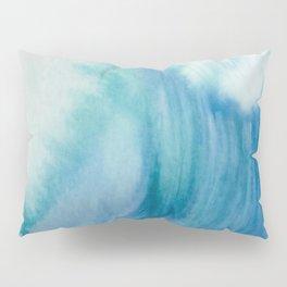 Watercolor Wave Pillow Sham