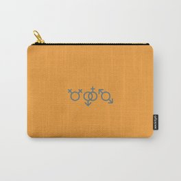 All good in Yellow Carry-All Pouch