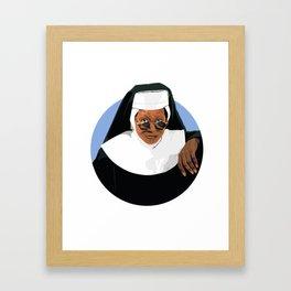 SISTER ACT Framed Art Print