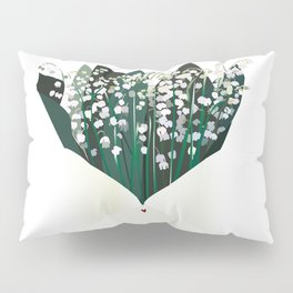 Send Lily to the Valley Pillow Sham