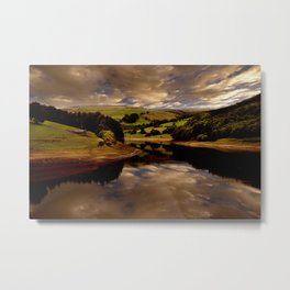 The Derwent Arm Metal Print