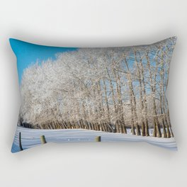 for the love of Frost Rectangular Pillow