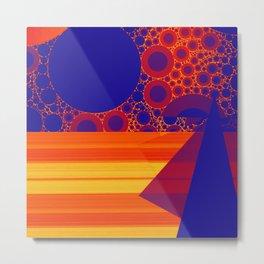 2in1 Pattern Mix, Marina Metal Print