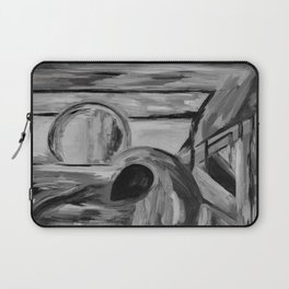 A Serenade in Black and Gray Laptop Sleeve