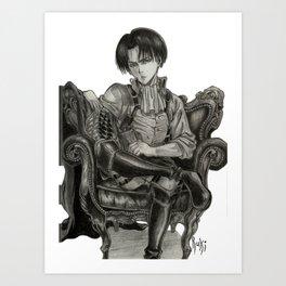 Levi Ackerman Art Print