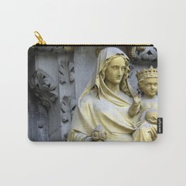 Holiest Mother and Child, View I Carry-All Pouch