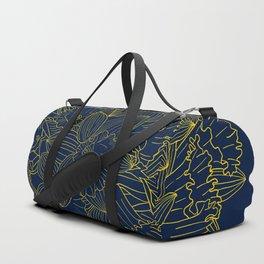 Daffodils by Night Duffle Bag