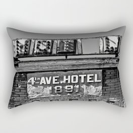 4th Avenue Hotel Rectangular Pillow