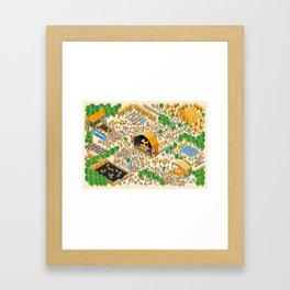 Music Fest Framed Art Print