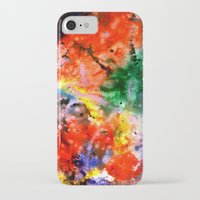 milky way iPhone & iPod Cases featuring Milky Way by Ink and Paint Studio