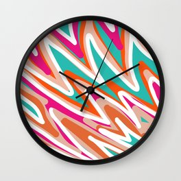 Color Vibes Wall Clock