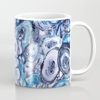 agate Mugs featuring Agate Textures by Casey Saccomanno