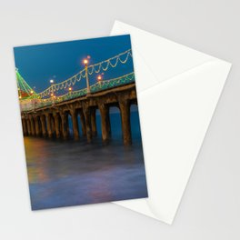 Photo California USA New year Manhattan Beach Natu Stationery Cards