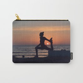 Sunset yogi Carry-All Pouch
