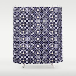 Pattern art curtain 2 Shower Curtain