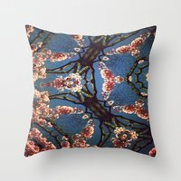 oriental Throw Pillows featuring Oriental by Shereen Yap