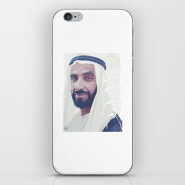 Zayed Bin Sultan iPhone Skin