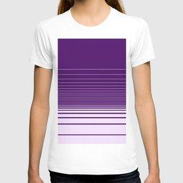 Fade Stripes Purple T-shirt
