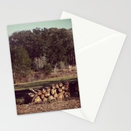 Ranch Firewood Stationery Cards