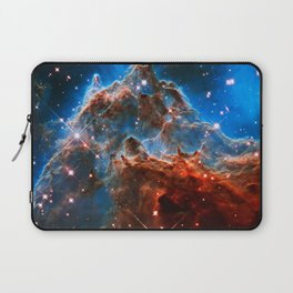 Monkey Head Nebula Laptop Sleeve