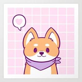 Good Doggo Kunstdrucke