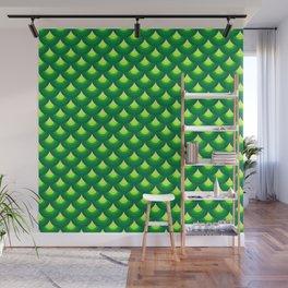 Dragon's Green Armor Wall Mural