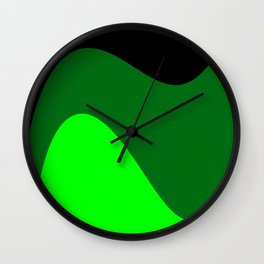 Waves 5 Wall Clock