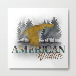 American Wilderness - Bald Eagle Metal Print