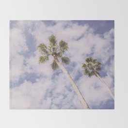 PALMS BEACH Throw Blanket