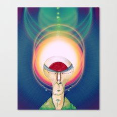 The Cosmic Glow Canvas Print