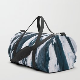 Arctic Glacial Pattern from above - Landscape Photography Duffle Bag