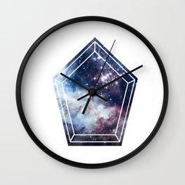 Pentagon Universe Wall Clock