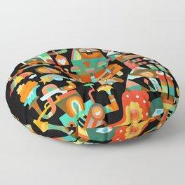 The Chipper Widget (Remix) Floor Pillow