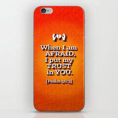 When I am Afraid . . . iPhone & iPod Skin
