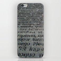 ground texture iPhone & iPod Skin