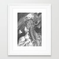 android Framed Art Prints featuring Android by Zhjake