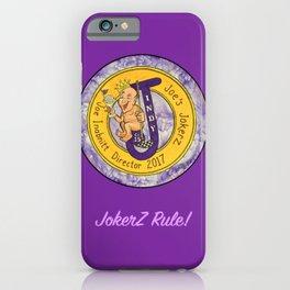 Joe' Jokerz iPhone Case