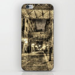 Vintage Butlers Wharf London iPhone Skin