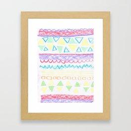 Oceanic Framed Art Print