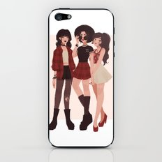 Ozai's Angels iPhone & iPod Skin
