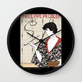 Three Pipe Problem Wall Clock