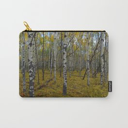 Fall forest walks in Jasper National Park Carry-All Pouch