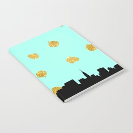 NYC Mint and Gold Notebook