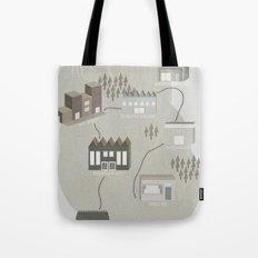City Travels Tote Bag